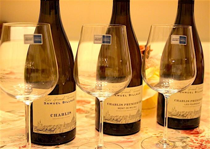 サミュエル・ビローとワイングラス